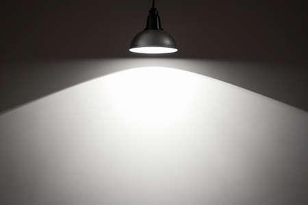 Spotlight on empty wall. Stock Photo - 18356715