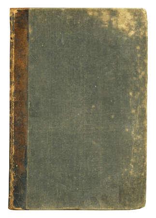 portadas de libros: Tapa ciega libro viejo, aislado.