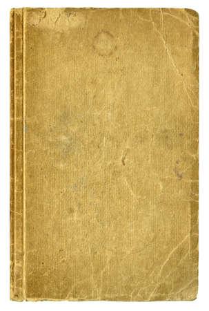 libros antiguos: Blanco cubierta de libro viejo, aislado,