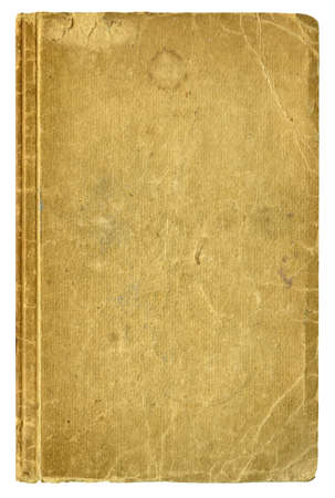 old book: Blank old book cover, isolated