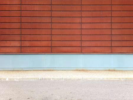 Abstract rusty street wall  photo