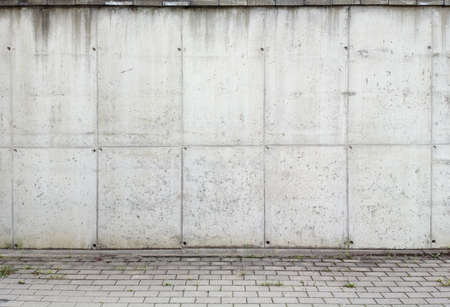 wall street: Concrete aged wall background, texture