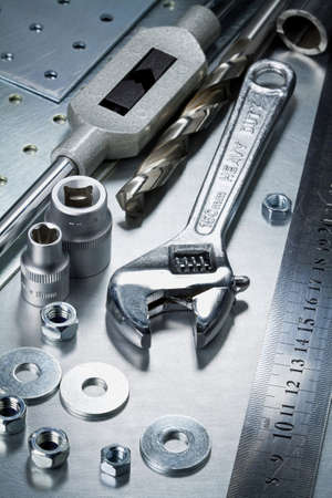 Metal work tools Stock Photo - 22110270