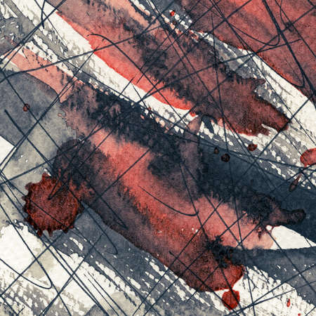 Abstract grunge background, ink texture. Stock Photo - 22542268