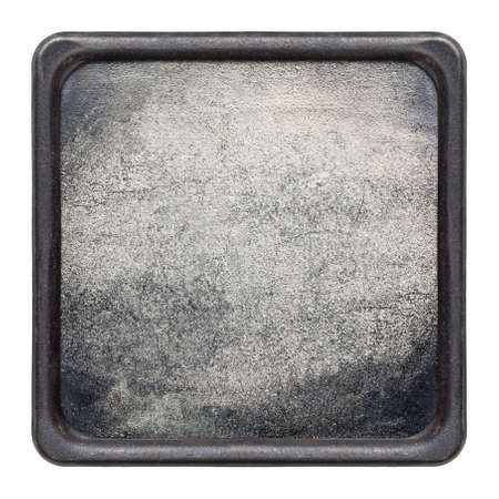 Framed metal plate texture photo