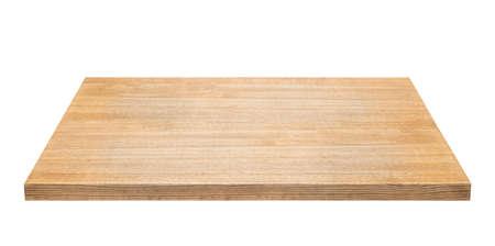 tabulka: Dřevěné tabulky izolovány na bílém pozadí