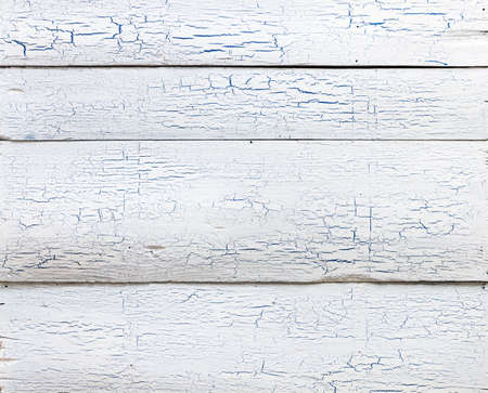 Wooden texture, painted white wood background photo