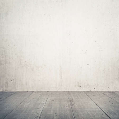 Urban background. Empty concrete wall and floor. Stock Photo - 24631369