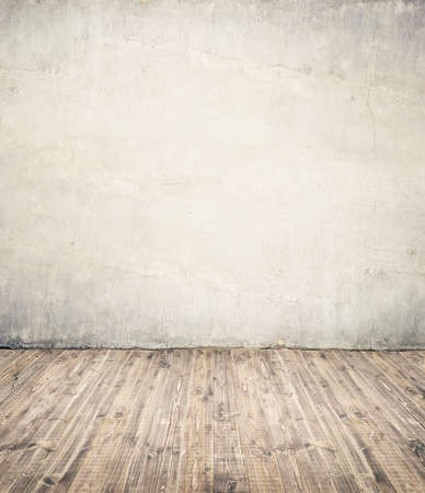ligneous: Empty room background. Wall ant wooden floor. Stock Photo