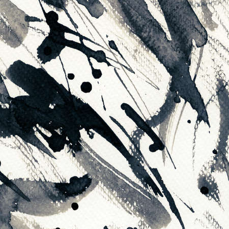 Abstract grunge background, ink texture. Stock Photo - 24631400