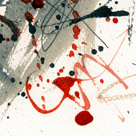 Abstract grunge background, ink texture. Stock Photo - 24631401