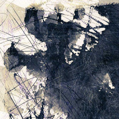 Abstract grunge background, ink texture. Stock Photo - 24812406