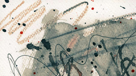 Abstract grunge background, ink texture. Stock Photo - 24812410