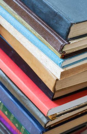 Stack of old books.  Reklamní fotografie