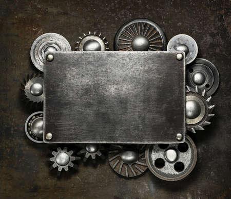 herramientas de construccion: Fondo de metal oscuro Industrial