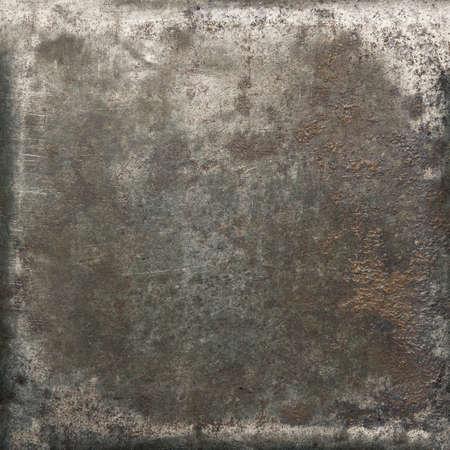 세 금속 질감입니다. 오래 된 철 배경입니다.