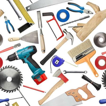 Seamless tool background Stock Photo - 25963384