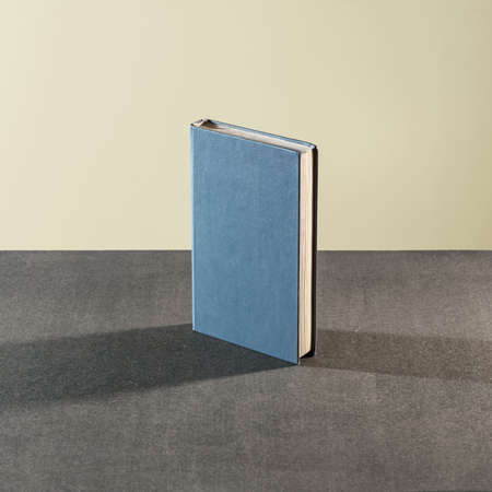 book spine: Book on the table