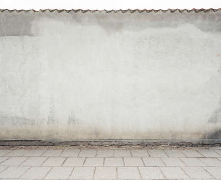 Empty street wall background, texture photo