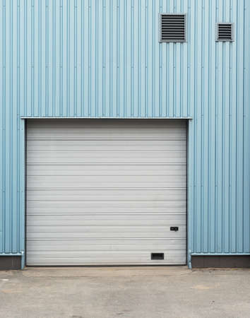 Warehouse doors. photo