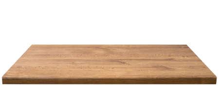 dřevěný: Dřevěný stůl top, izolovaný