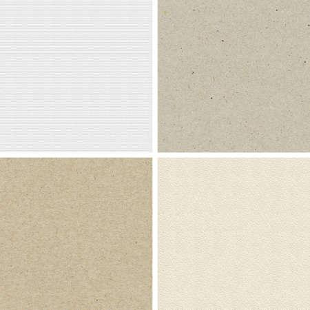 Naadloze texturen van waterverf en gerecycled papier.