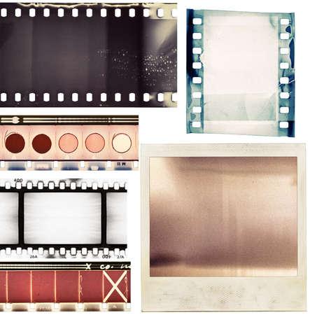 Film textures photo