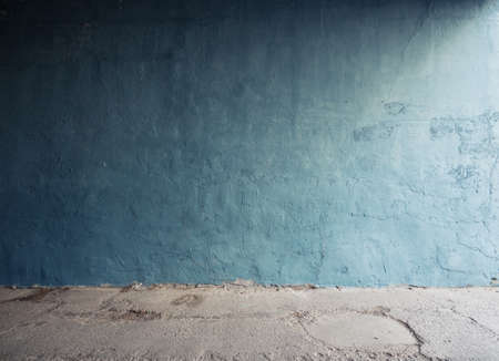 Urban background. Empty street wall texture. photo