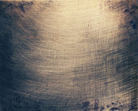 Aged brass plate texture, old metal background.