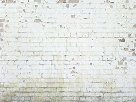 Bakstenen muur achtergrond, textuur voor graffiti