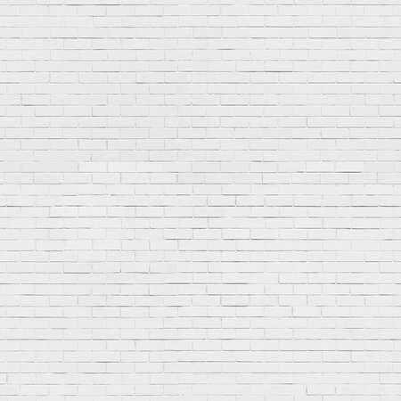 シームレスな白いレンガの壁のテクスチャ背景