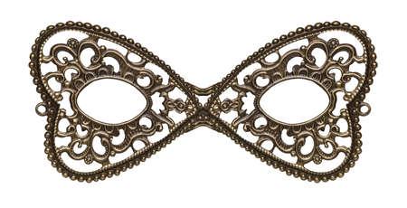 teatro mascara: Máscara para los ojos de la mascarada de metal