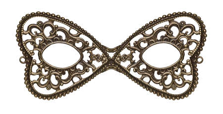 masquerade costumes: Masquerade eye mask made of metal