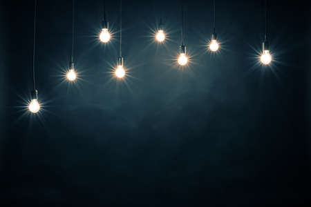 elektrizit u00e4t: Glühbirnen Lizenzfreie Bilder