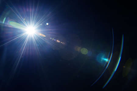 Natural lens flare. Stock Photo - 42124070