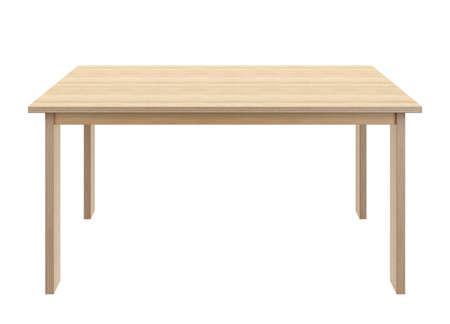 Table made of plywood Stock Photo - 42104067