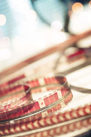 motion picture: Abstract motion picture film