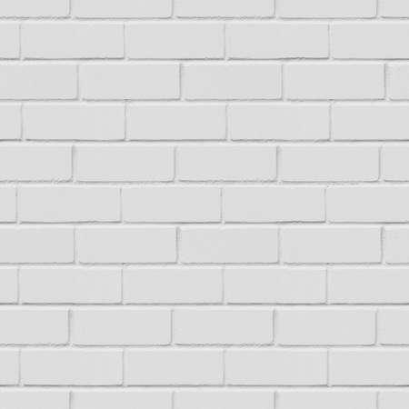 paredes de ladrillos: Fondo blanco pared de ladrillo inconsútil, textura