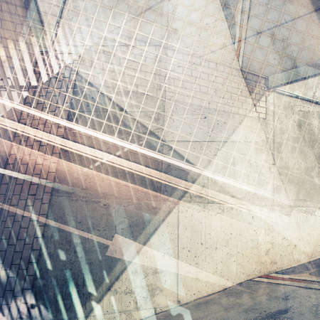 Abstract multi exposure background. Architectural details. 版權商用圖片