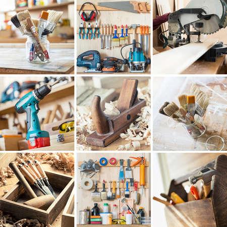 herramientas de carpinteria: Herramientas para la artesanía en madera, carpintería y otros oficios