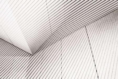Résumé à double fond d'exposition. Les formes architecturales.