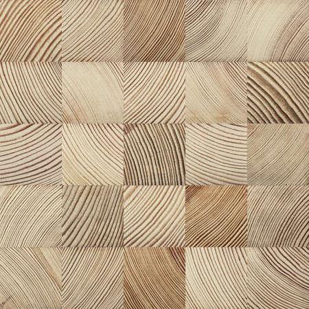 cross cut: Seamless end grain wood texture. Cross cut lumber blocks. Stock Photo