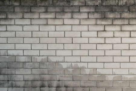 Aged brick wall texture, grunge background
