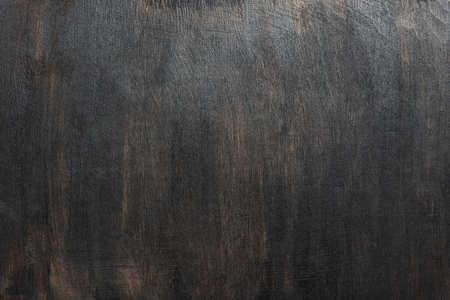 Wood texture, dark painted scratched plywood board background 版權商用圖片 - 87902207