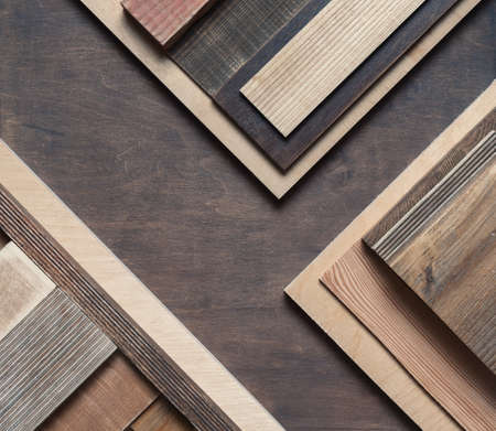 Abstract scrap wood background photo.