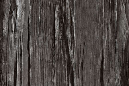 Wood texture, dark painted rough lumber board background