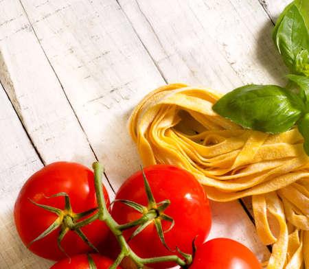 italian food background for restaurant menu photo