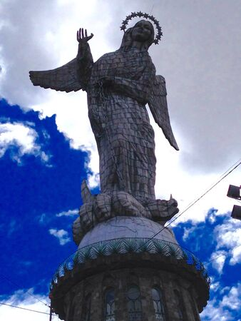 Ecuador Virgin Banco de Imagens