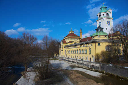 The M�llersches Volksbad building, Munich photo