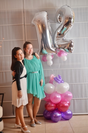 sister: Secular 12-year-old Israeli teenager celebrating her Bat Mitzvah with her older sister